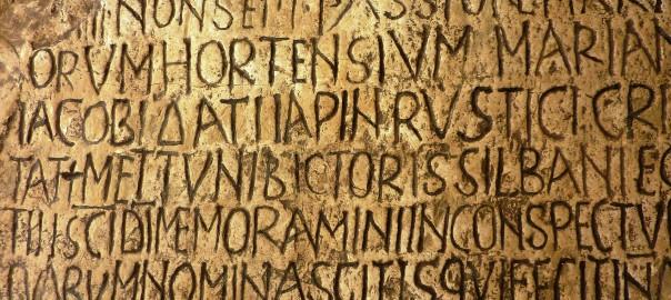 Epigrafe latina