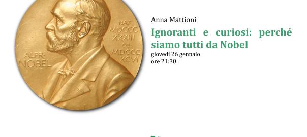Locandina della lezione di Anna Mattioni