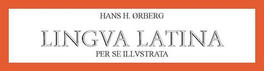 Frontespizio del libro Lingua Latina di Hans Orberg