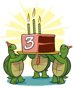 terzo compleanno